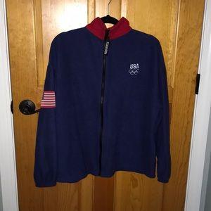 USA Olympics zip up
